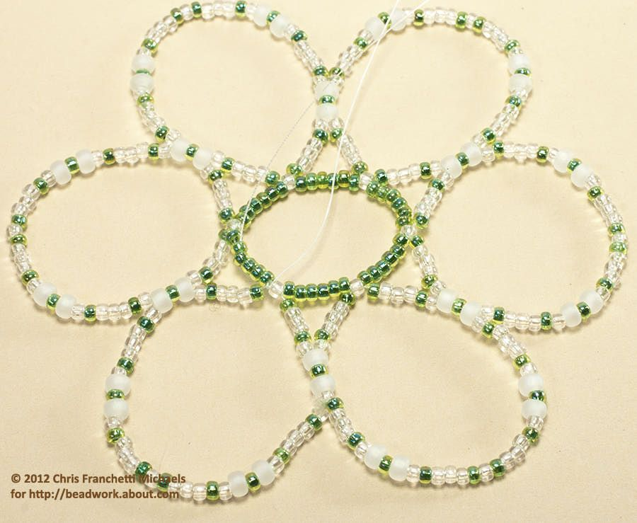 Easy Beaded Ornament Cover Pattern Jewellry Beaded