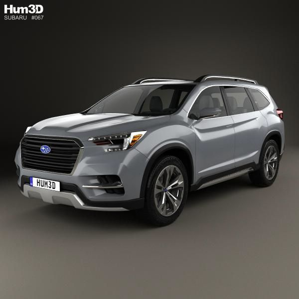 Subaru Ascent Suv 2017 Model From Hum