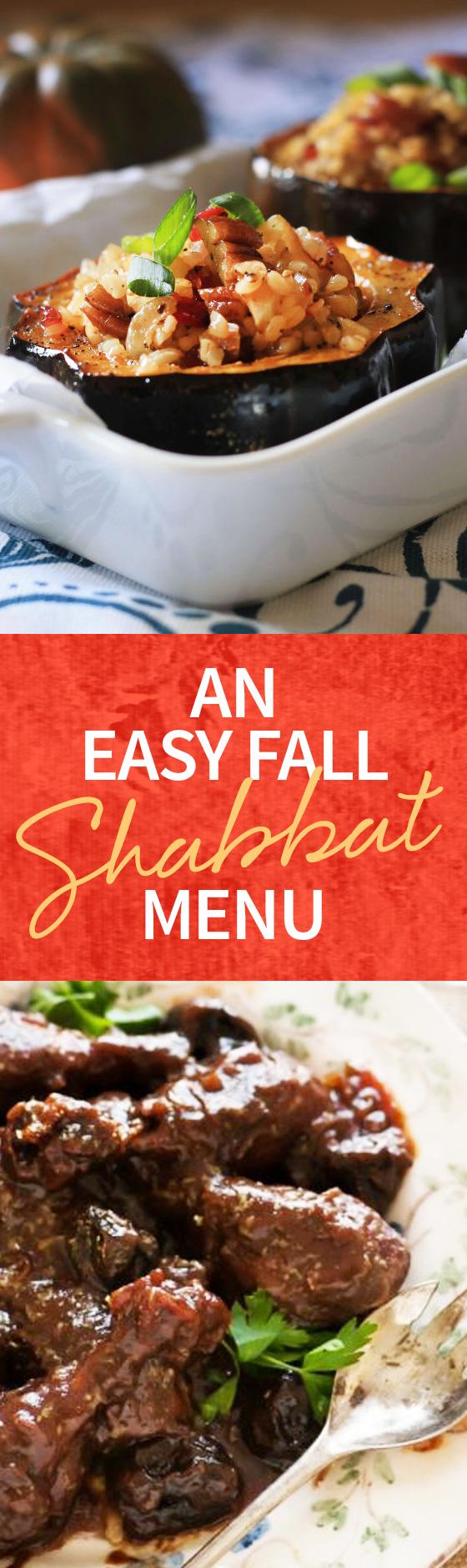 Easy Fall Shabbat Menu Kosher Cooking Jewish Cuisine Jewish Cooking