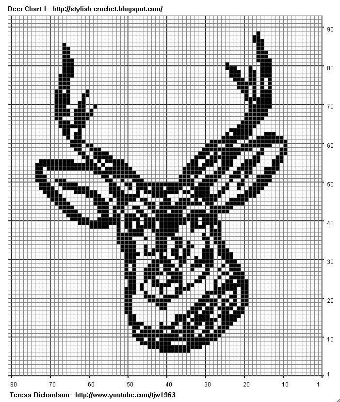 DeerCHT1.jpg] | Crochet | Pinterest