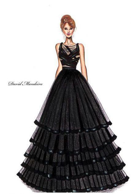 Photo of Trendy fashion ilustration sketches sketchbooks dresses ideas – karla mandujano