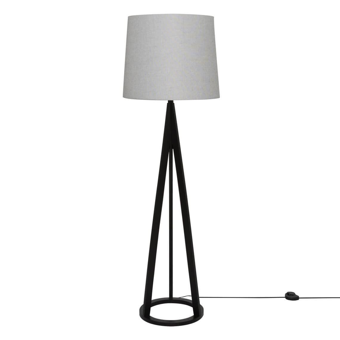Mason 60w E27 Floor Lamp Espresso Floor Lamp Sofa Shop