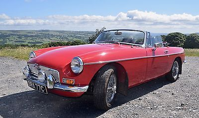 eBay: 1965 MGB Roadster 2500 miles engine - chrome bumper; new suspension; wire wheels #classiccars #cars