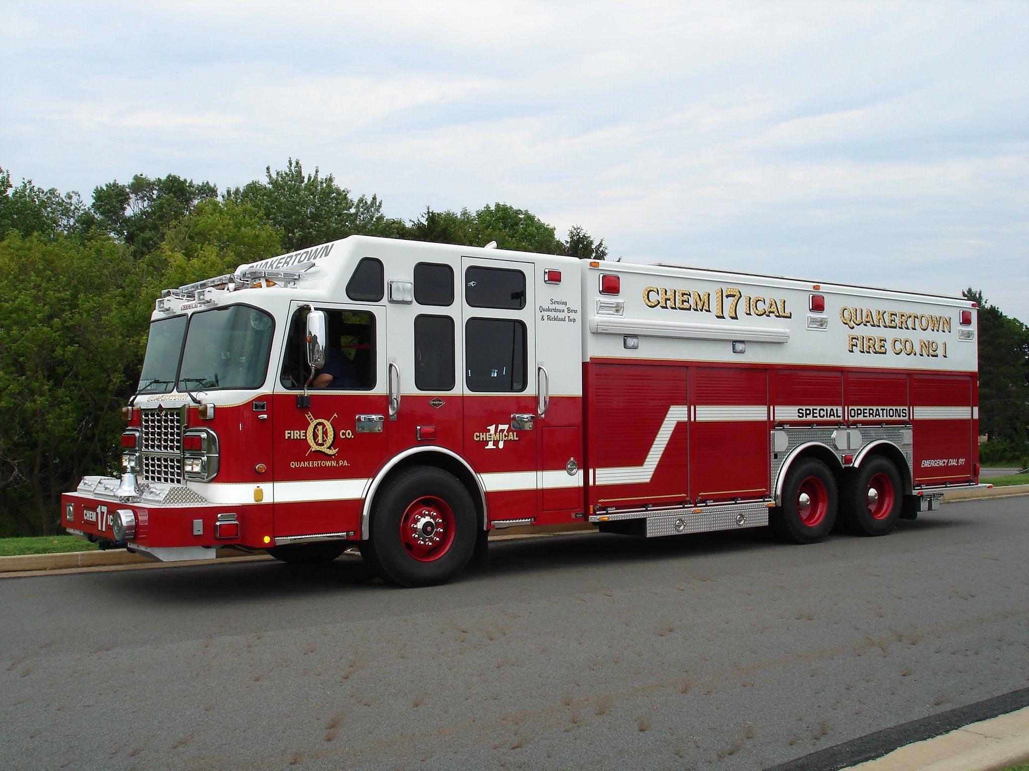 Quakertown, PA FD Rescue 17 2010 Spartan/Swab Heavy