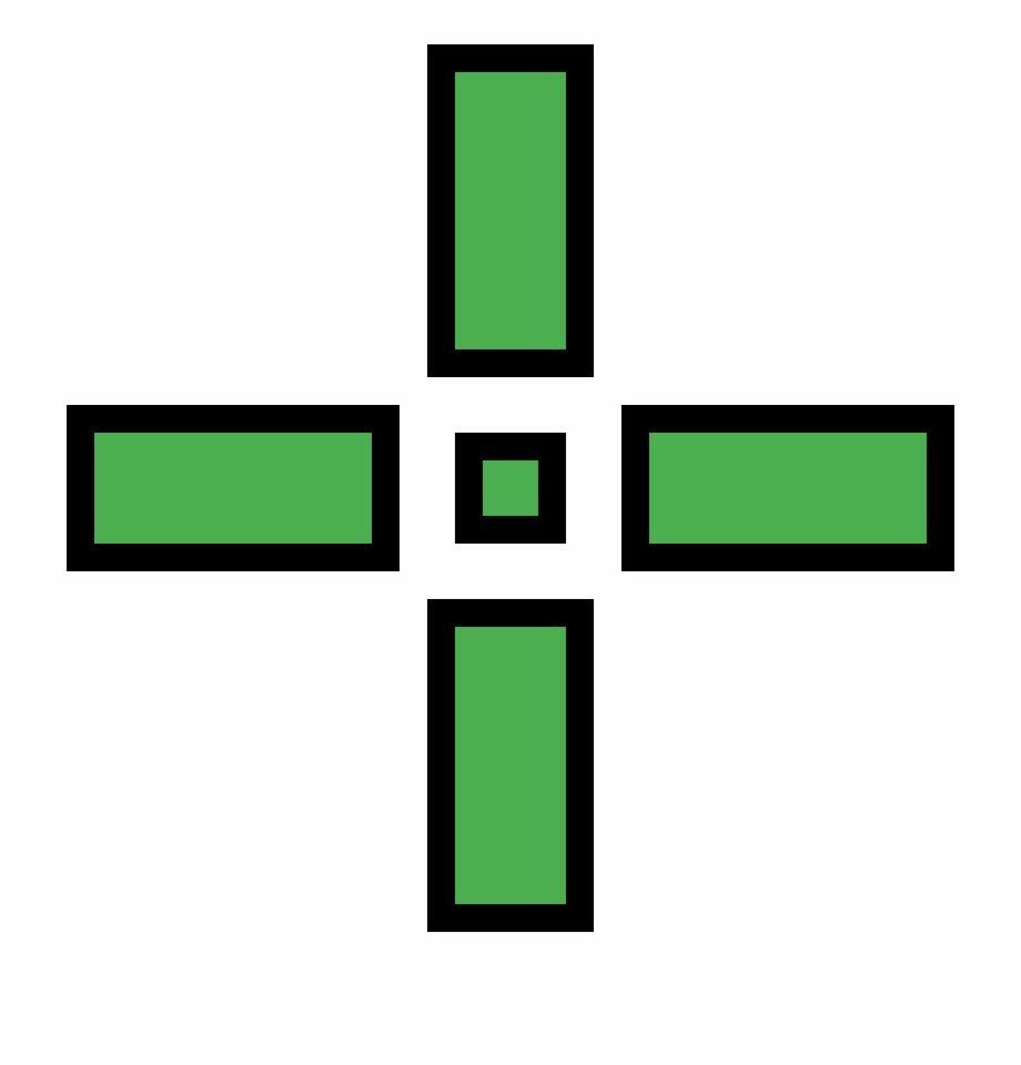 Green Crosshair Png Pixel Art Maker Png Green Leaf Background
