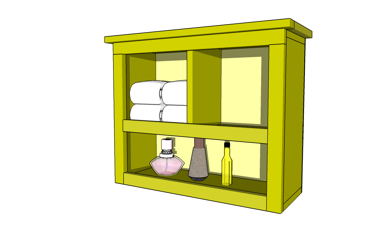 Bathroom Shelf Plans Create Stylish Storage For Your This Build It Yourself Shelving Unit Is