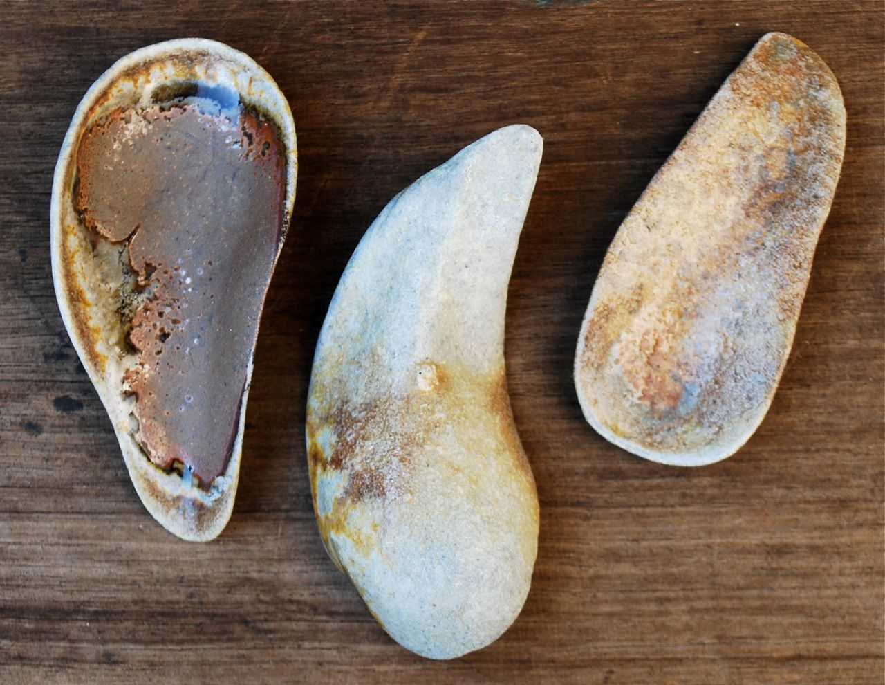 Woodfire Spoons by Vicki Grima, 2012