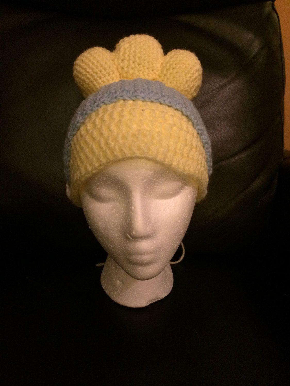 08941dde309 Cinderella crochet beanie by MDpotpourri on Etsy