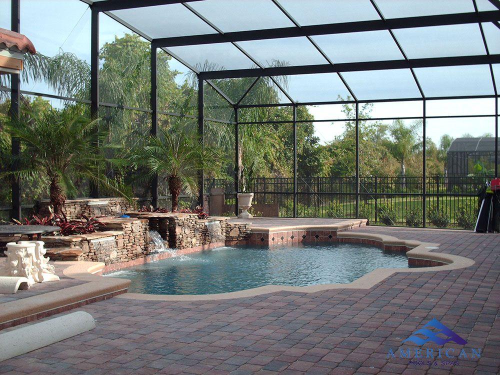 Vero Beach Swimming Pool Screen Enclosures Pool Fountain Pool Houses Swimming Pools