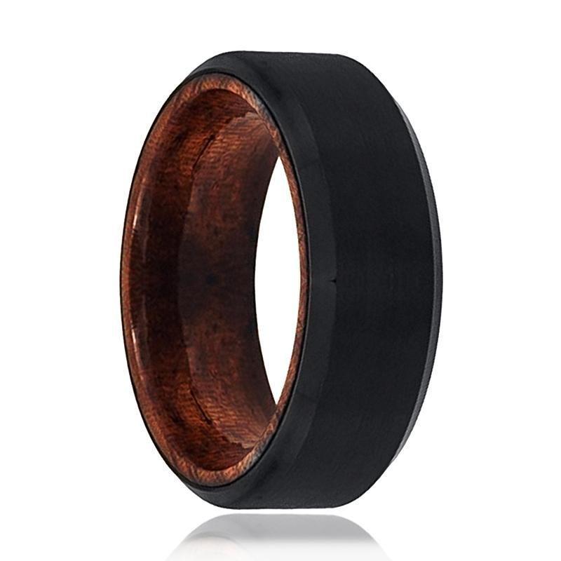 Tungsten Wedding Band Black Tungsten Ring Brushed Polished Etsy In 2020 Black Tungsten Rings Tungsten Wedding Bands Mens Wedding Bands Tungsten