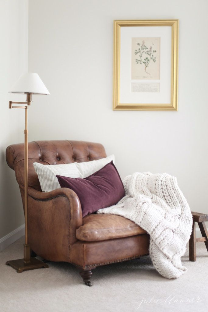14 Fall Home Trends You Won't Be Able to Stop Pinning is part of Reading chair - Some people update their wardrobe for Fall  We update our home — and this Autumn we're crushing hard on naturebased decor, cozy accents, and warm