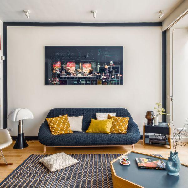 Salon design en 70 idées supers d\'aménagement et décoration ...