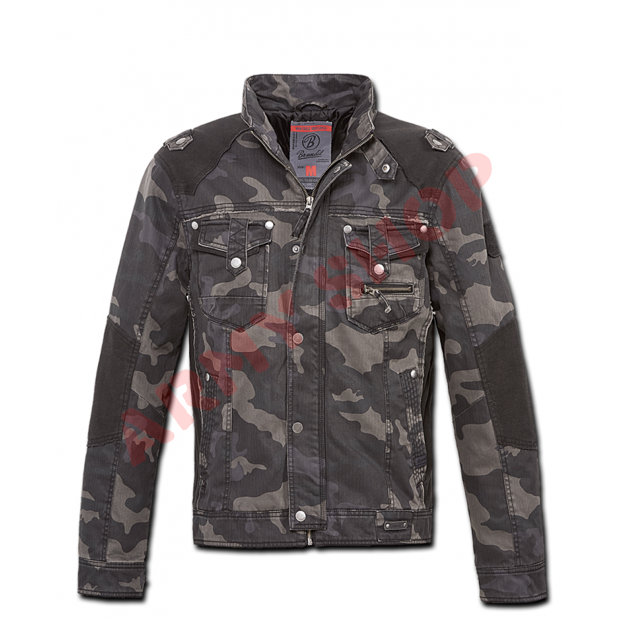 Military Style Mil-Tec Us Field Style Jacket Mandra Woodland Style Camo Airsoft