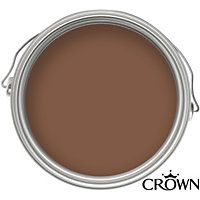 Crown Solo Chocolate Brown - One Coat Gloss Paint - 750ml | MUSIC
