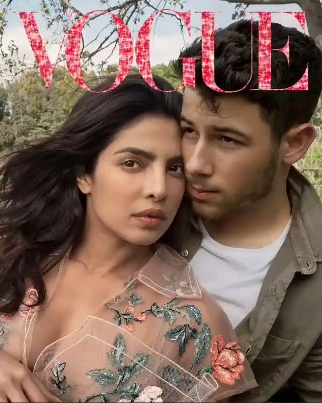 Priyanka Chopra and fiancé Nick Jonas (With images ...