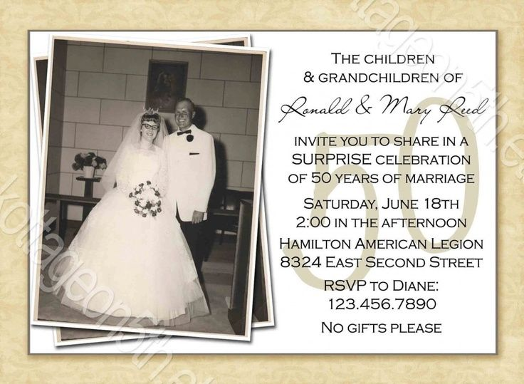 50th anniversary party ideas | 50th wedding anniversary surprise ...