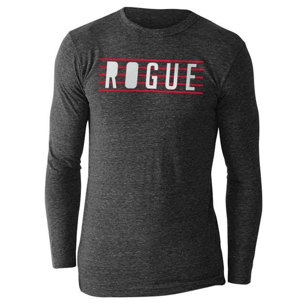 http://www.roguefitness.com/rogue-between-the-lines-long-sleeve-shirt.php?a_aid=4ff181ec18f98 #crossfit Rogue Between The Lines Long Sleeve Shirt
