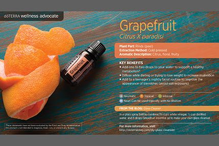 doTerra Power Point Image - Single Oil - Grapefruit Order some here: www.mydoterra.com/teamstrickland