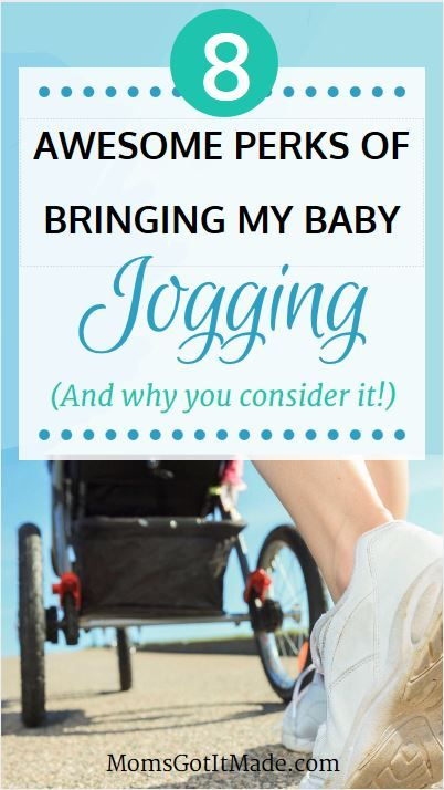 My top eight reasons for embracing the jogging stroller and bringing my baby with me when I run. #RunningMom #Baby #MomLife #FamilyHealth via @https://www.pinterest.com/MegsGotItMade/