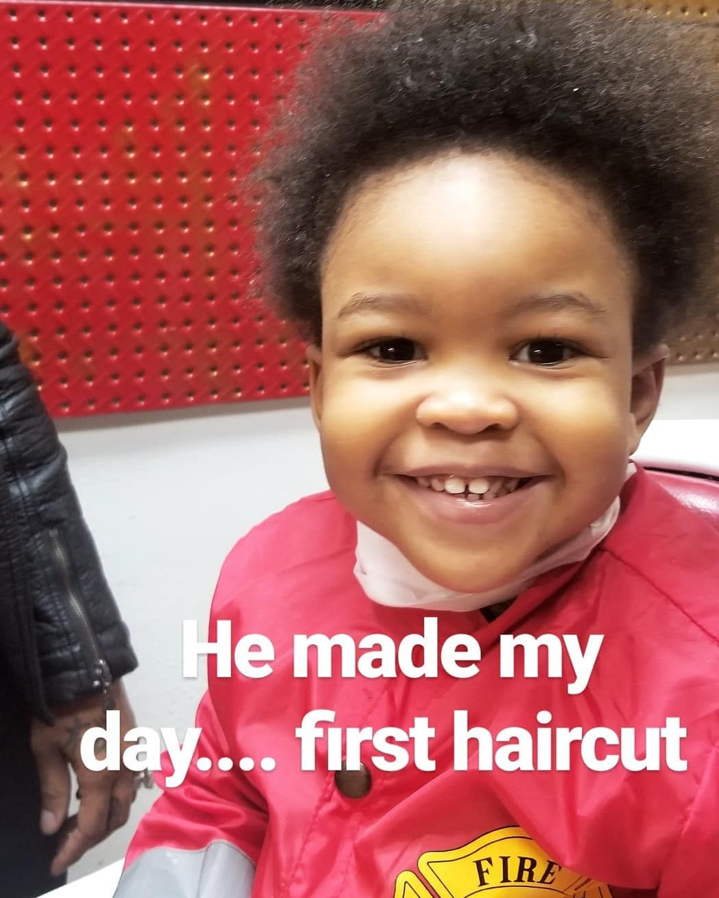 Into The Future The Joy They Bring His First Haircut Kidshaircut