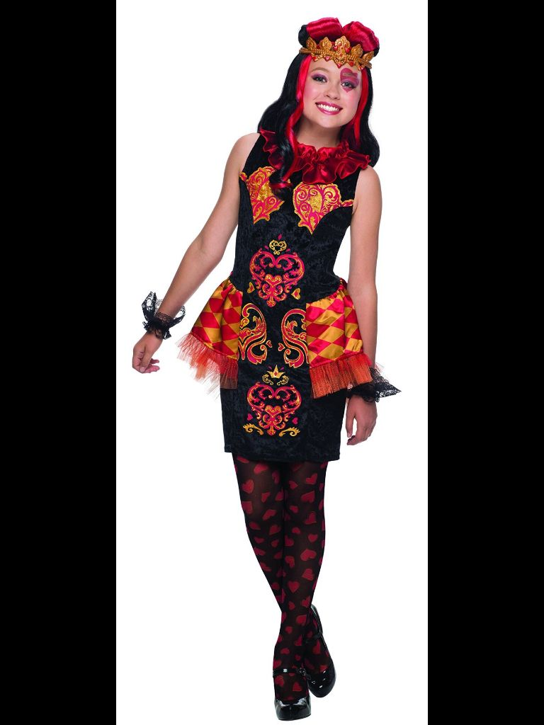 Ever After High Lizzie Hearts costume | Heart dress, Girl ...