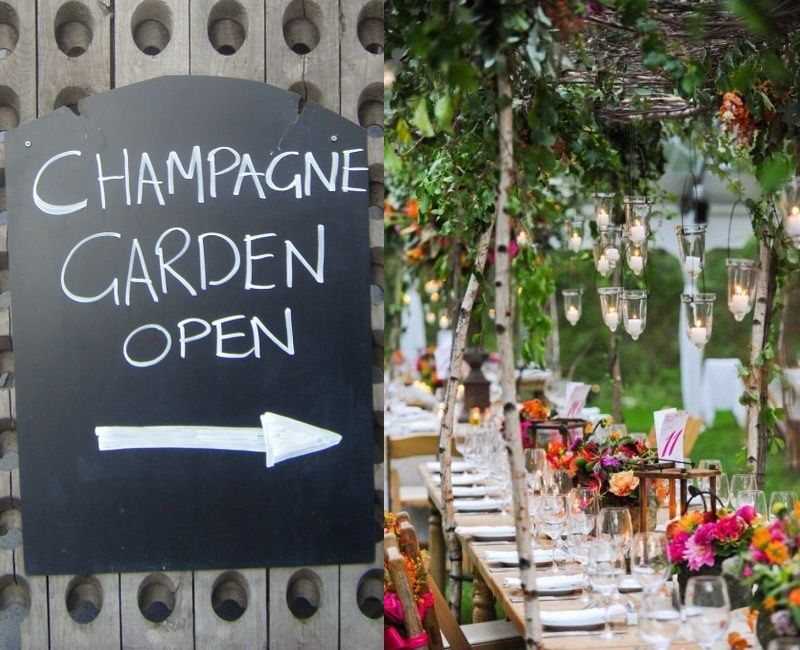 Champagne Garden Party