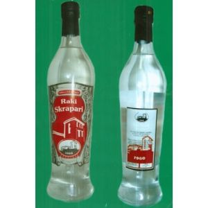 Albanian Raki Skrapari Famous Albania Traditional Drink