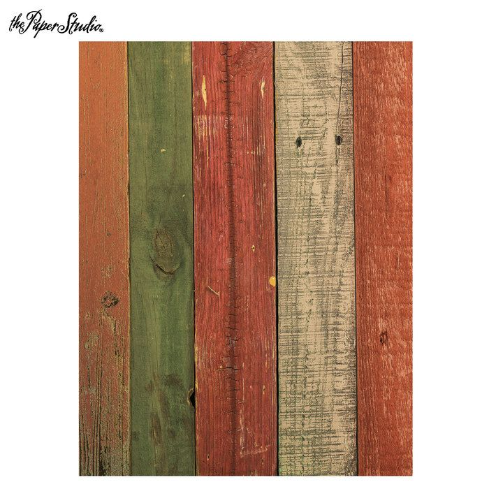 Fall Painted Wood Scrapbook Paper 8 1 2 X 11 Wood Scrapbook Paper Scrapbook Paper Autumn Painting