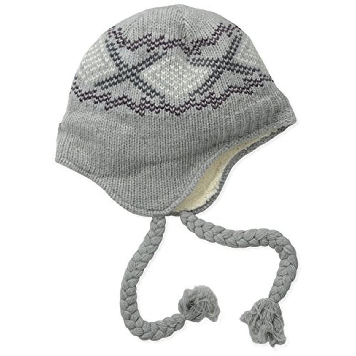 df49c003aa3d2 Carhartt 1248 Womens Gray Wool Pattern Heathered Trapper Hat O S Bhfo