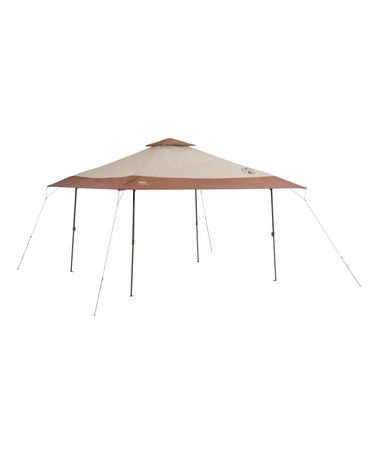 Look what I found on #zulily! Brown 13' x 13' Instant Canopy #zulilyfinds