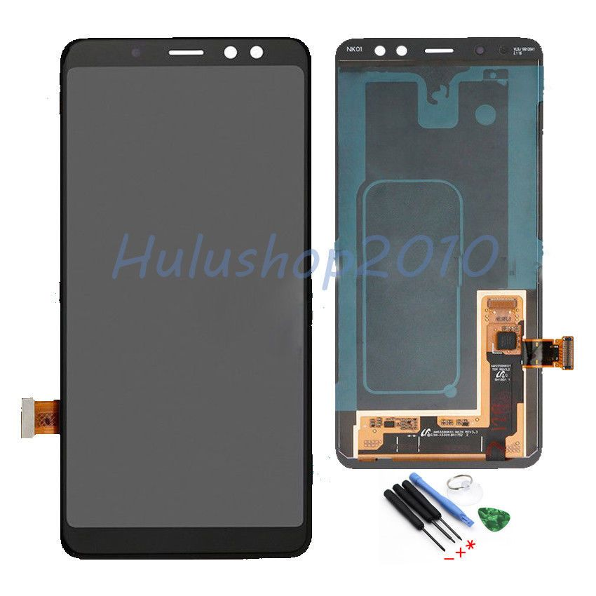 hot sale online 697ff 3a3fe LCD Display Touch Screen For Samsung Galaxy A8 2018 5.6