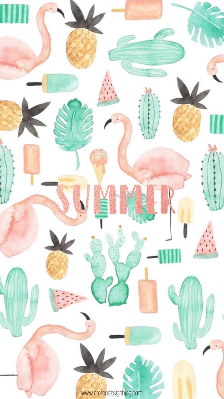 1104x1920 Cute Summer Backgrounds 2017 Iphone Wallpapers Hd Wallpaper Ponsel Latar Belakang Kertas Dinding