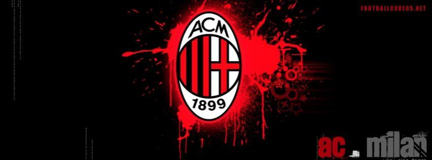 Ac Milan Logo Fb Cover Milan Wallpaper Ac Milan Best Facebook