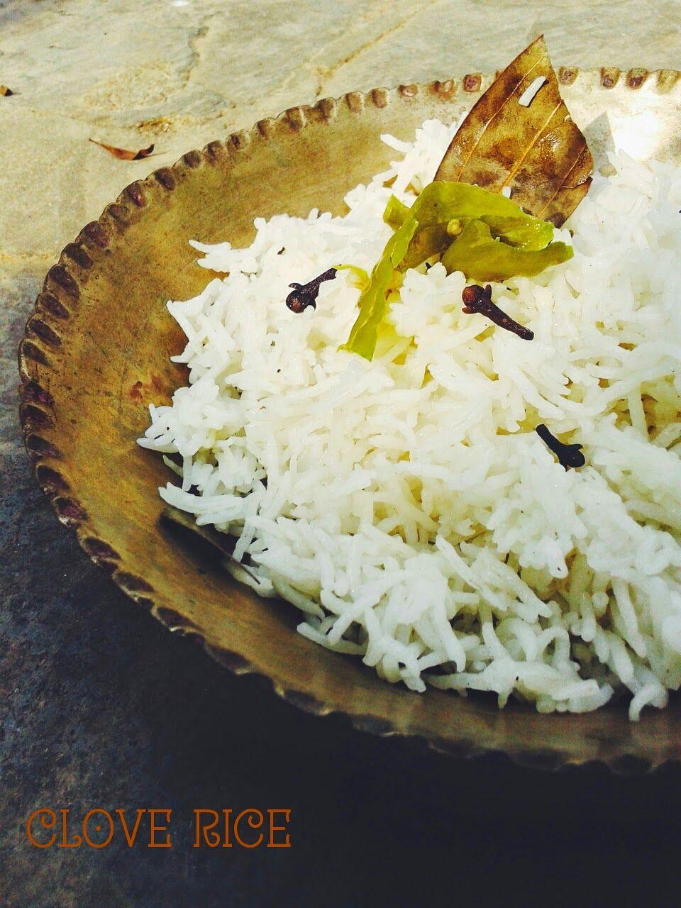 Clove Rice Indian food recipes, Food, Food blog