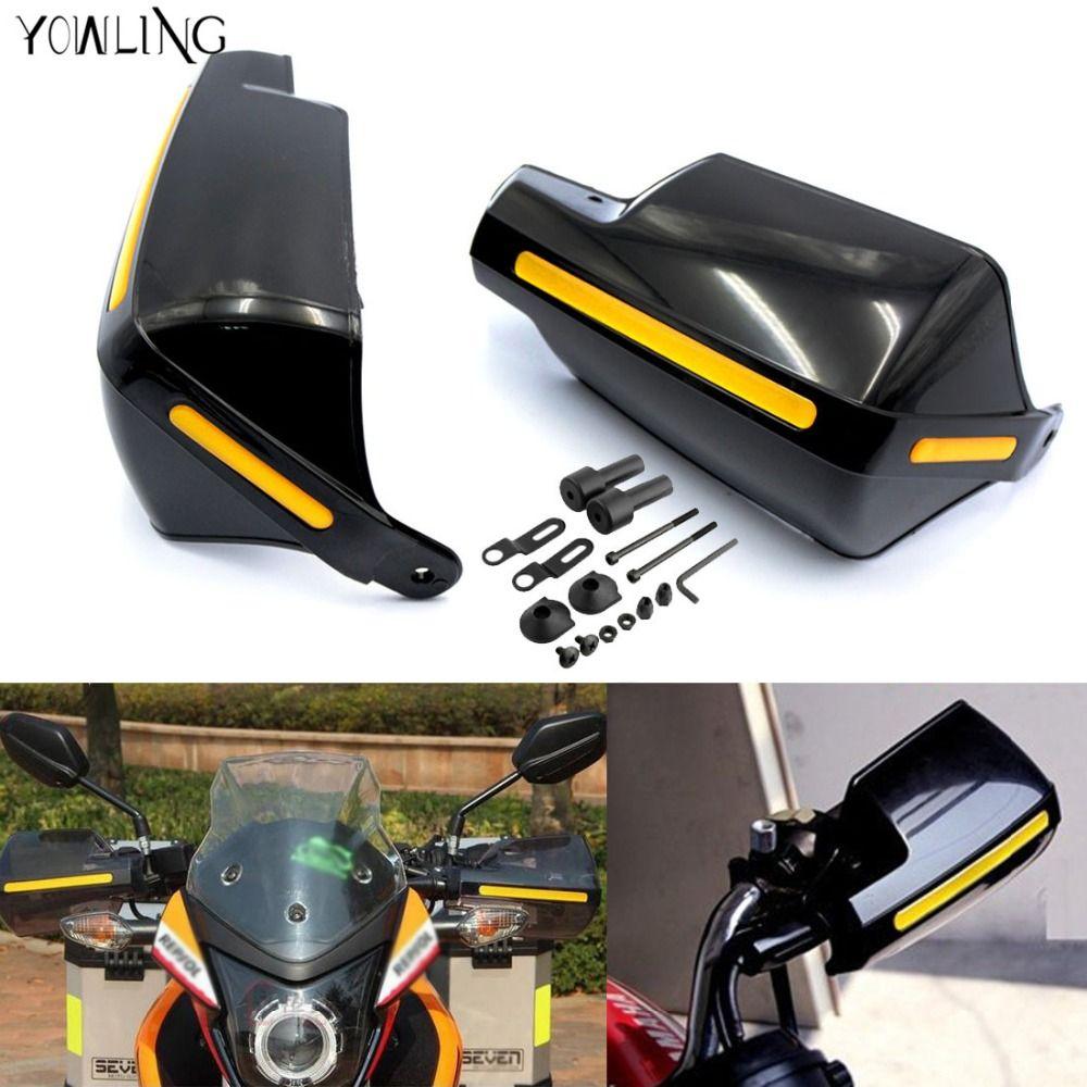 "For Honda//Yamaha//Suzuki//KTM//Kawasaki//Ducati 7//8/"" 22mm Levers Guards Handguards"