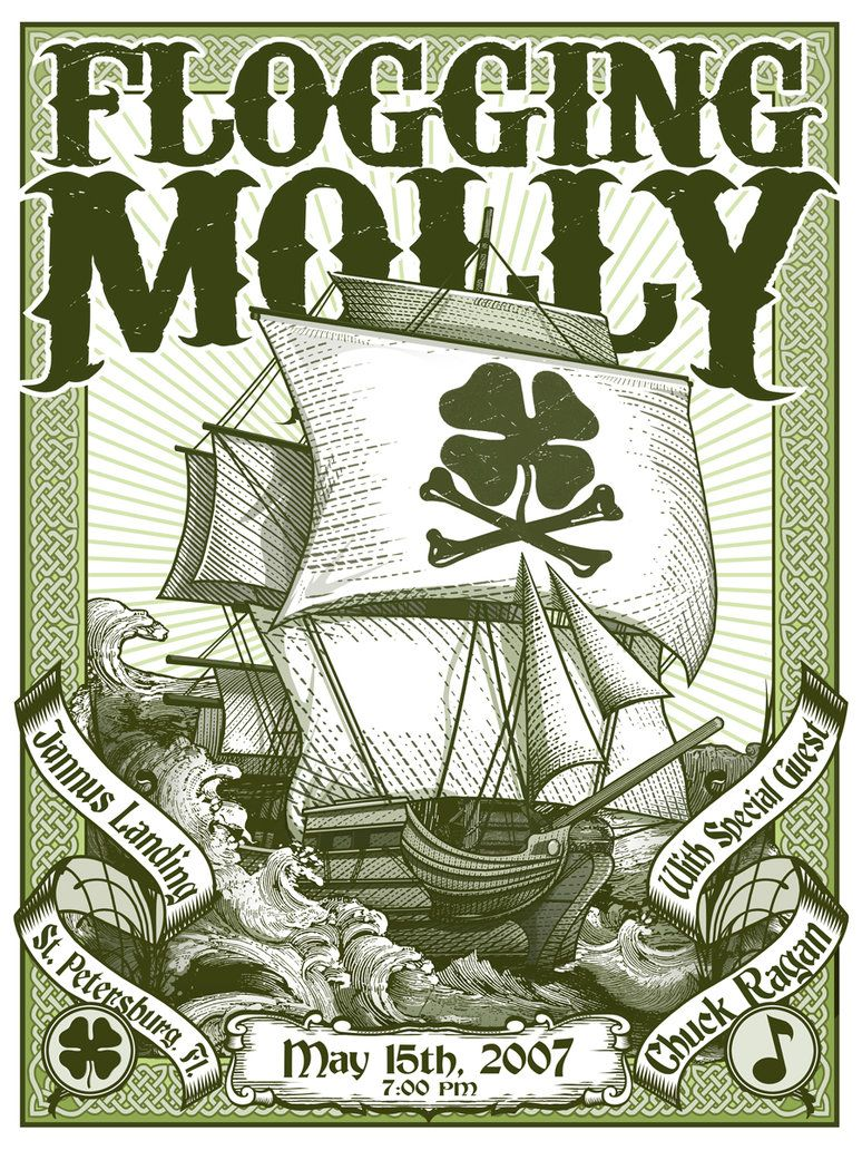 | Flogging Molly Poster by ~VoodrewDaddy on deviantART