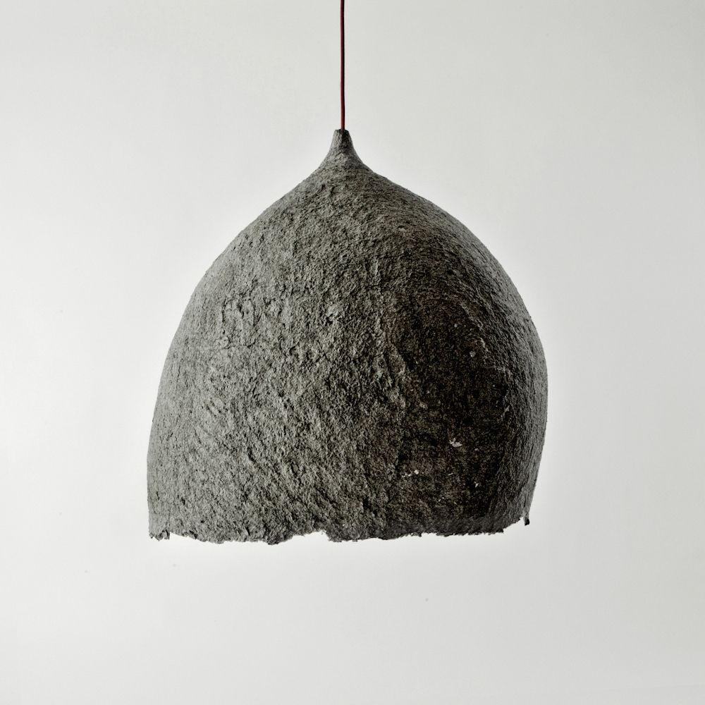 Pulp Pendant II recycled furniture, eco furniture, sustainable lighting, eco lighting | Folklore