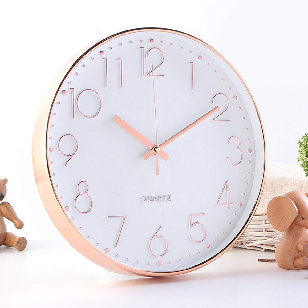 10 Best Copper Rose Gold Wall Clocks Today Gold Wall Clock Wall Clock Clock