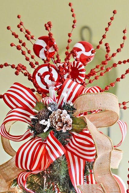 Christmas Tree Topper Idea Christmas Inspiration
