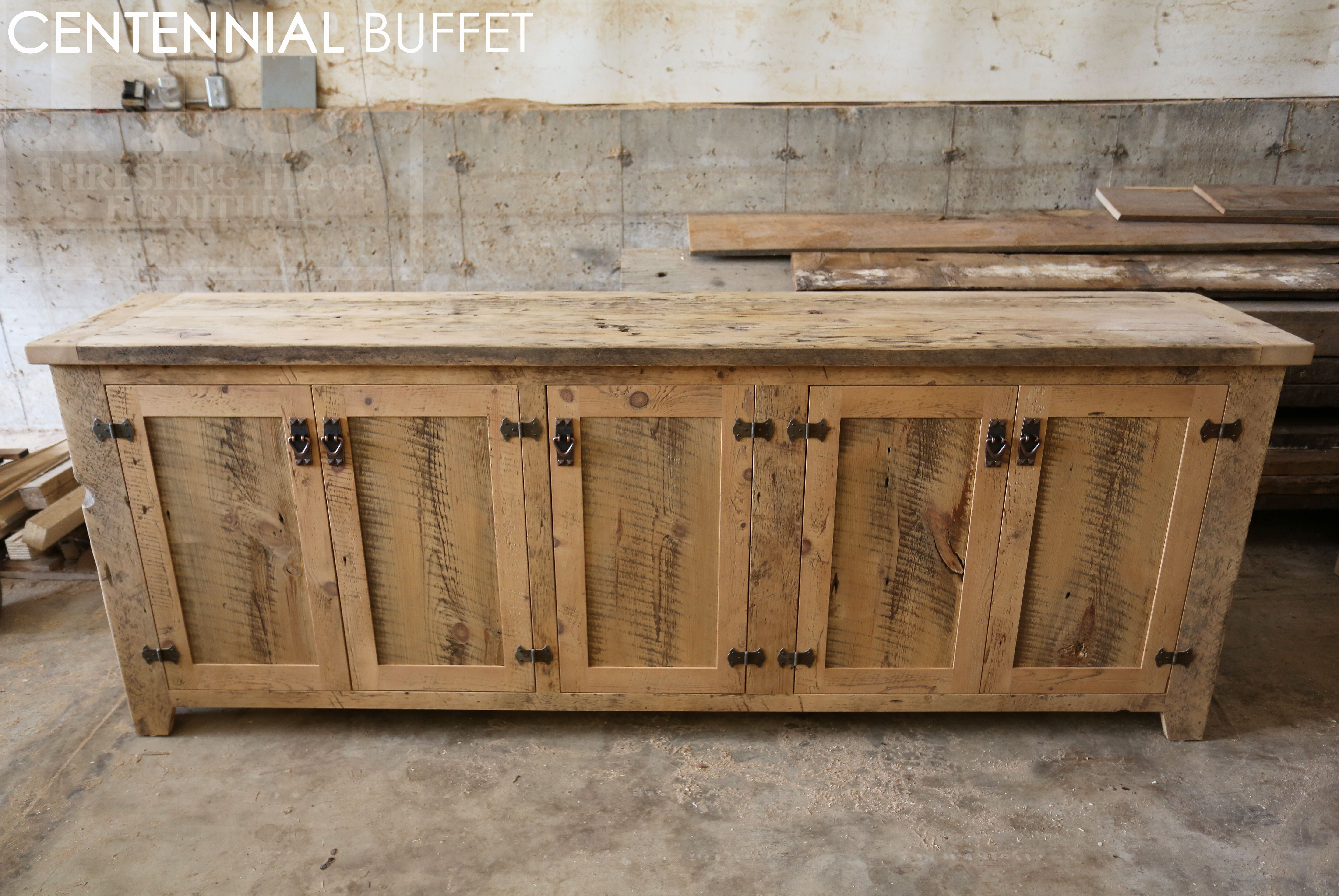 Ontario Reclaimed Wood Furniture Reclaimed Wood Credenza By Hd