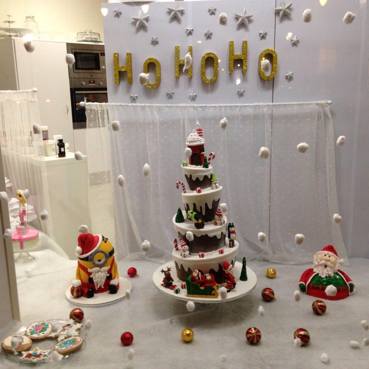 Escaparate navidad de dulcedorotea dulce dorotea - Ideas escaparate navidad ...