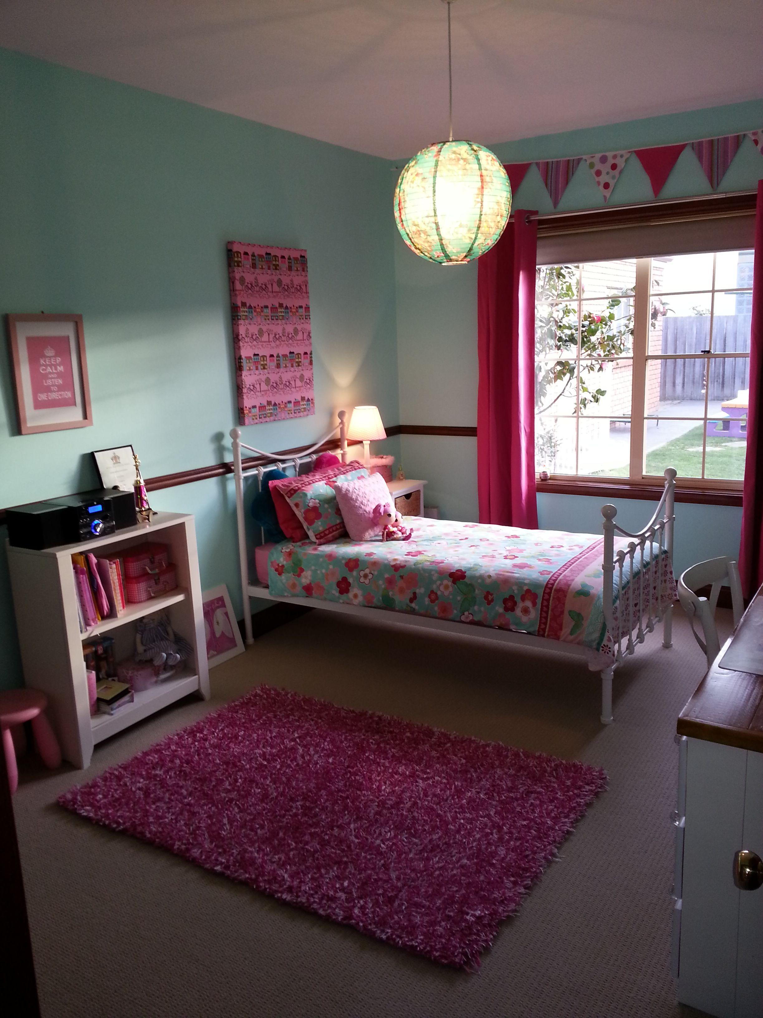 Dulux Kids Bedroom In A Box: Love The Aqua Wall Colour