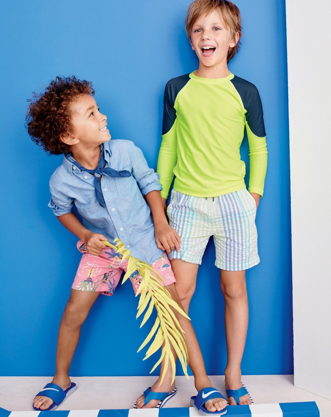 3277abc28490 Crewcuts kids  linen-cotton shirt