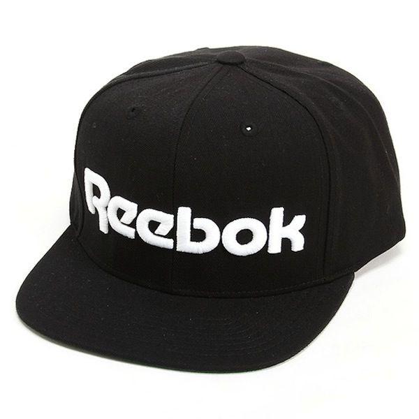 black reebok classic snapback