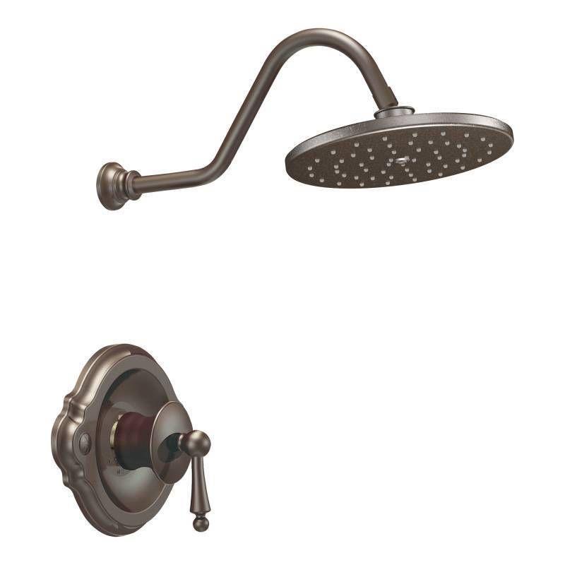 Moen Waterhill Oil Rubbed Bronze Bathroom Faucet Set For Posi Temp