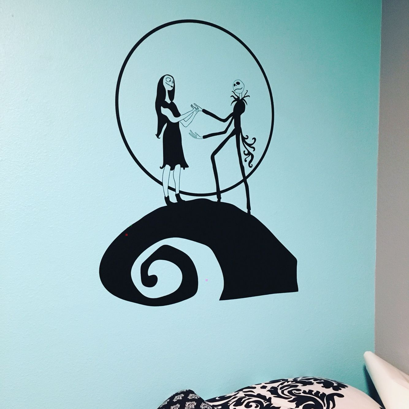 Perfect wall decal for any Nightmare before Christmas fans ! Jack ...
