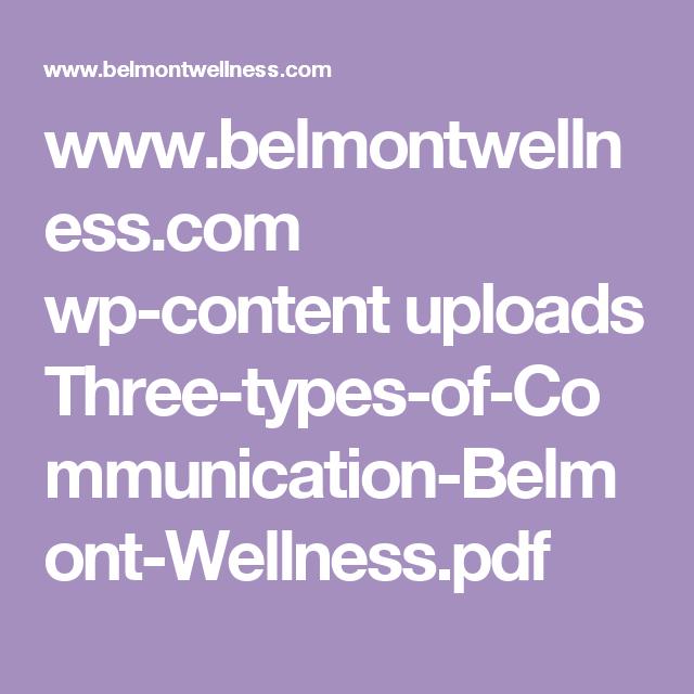 www belmontwellness com wp-content uploads Three-types-of