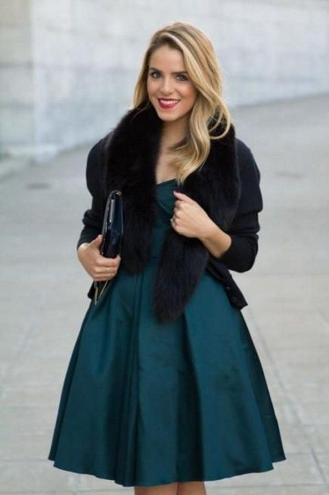 32 Winter Wedding Guest Outfits You Should Try | HappyWedd.com - 32 Winter Wedding Guest Outfits You Should Try Fashion / Gowns
