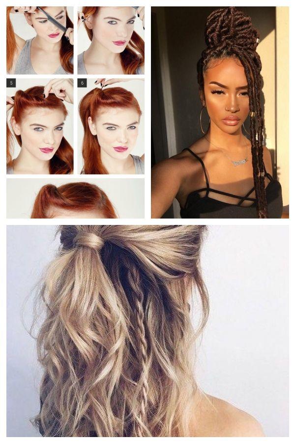 7 Easy Retro Hair Tutorials from Pinterest