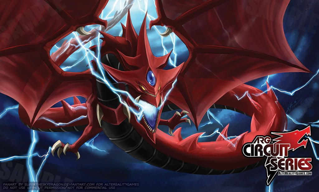 Slifer The Sky Dragon Playmat For Arg By Slifertheskydragon On Deviantart Yugioh Collection Ultimate Dragon Rwby Anime
